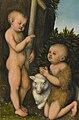 Lucas Cranach d.Ä. - Die Anbetung des Jesuskindes durch Johannes den Täufer.jpg
