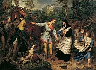 Rudolf von Habsburg und der Priester