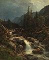 Ludwig Halauska - Gebirge bei aufsteigendem Gewitter - 57 - Österreichische Galerie Belvedere.jpg