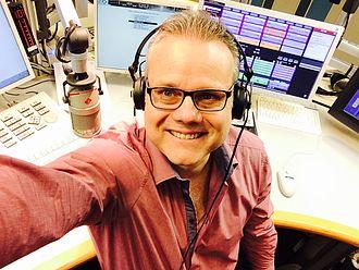 Selfie - Selfie from a radio host