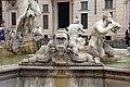 Luigi amici, tritoni e mascheroni della fontana del moro, copia da giacomo della porta, 1874, 11.jpg