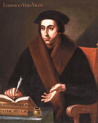 Juan Luis Vives - Anonymous portrait of Juan Luis Vives, Museo del Prado