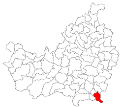 Location of Comuna Luna
