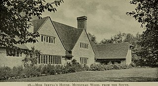 Munstead Wood Grade I listed house in the United Kingdom