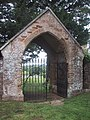 Lych Gate Leading into Otterton Churchyard - geograph.org.uk - 956346.jpg
