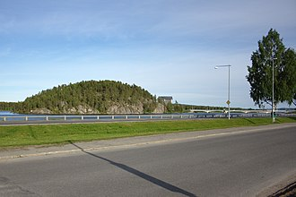 Blue Highway (tourist route) - Image: Lycksele Korpberget 2012 06 23