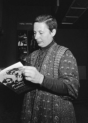 Lydia Chagoll - Lydia Chagoll in 1979 at the presentation of: In naam van de Führer