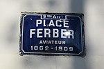 Lyon 9e - Place Ferber - Plaque (fév 2019).jpg
