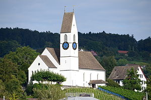 Männedorf - Reformed church in Männedorf
