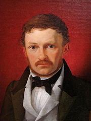Portræt af arkitekten M.G.B. Bindesbøll