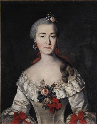 Tatischev family - Maria Dmitriev-Mamonov (née Tatischev)