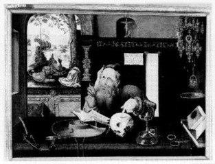 Saint Jerome in his Studio