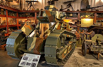 Tanks of the United States - US M1917 tank