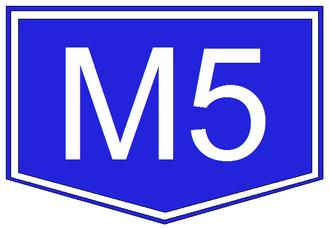 A1 motorway (Serbia) - Image: M5 autopalya