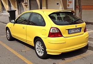 MG ZR - MG ZR three door