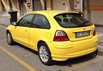 MG ZR - MG ZR (three door)