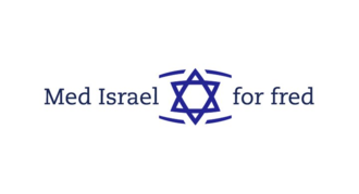 With Israel for Peace - Logo of MIFF.