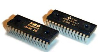 Chiptune - MOS 6581 and 8580 Commodore 64 SID chips.