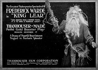 <i>King Lear</i> (1916 film) 1916 film by Ernest C. Warde