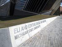 MSU Broad Art Museum exterior 4
