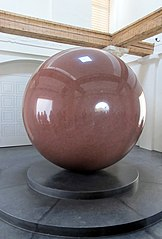 Large Red Sphere