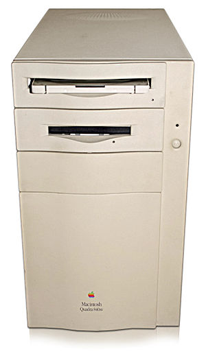 Macintosh Quadra 840AV - A Macintosh Quadra 840AV