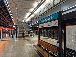 Macquarie University railway station Sydney Metro railway station