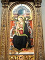 Madonna and Child Enthroned with Donor, Carlo Crivelli, 1470, tempera on panel, view 2 - National Gallery of Art, Washington - DSC08838.JPG