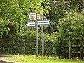 Maerdy Cross Roads Signpost - geograph.org.uk - 414691.jpg