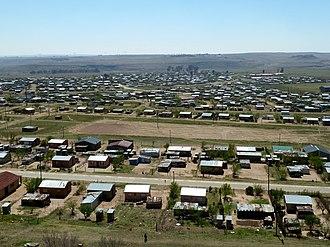Free State (province) - Mafahlaneng township at Tweeling