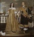 Magnus Gabriel De la Gardie med makan Maria Eufrosyne, målning av Hendrik Münnichhoven från 1653.jpg