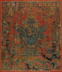 Mahakala and his Entourage