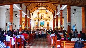 San Carlos Borromeo Church (Mahatao) - Image: Mahatao Church 04