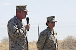 Maj. Gen. Busby visits after MWSS 371's unique DUI Safety stand down event 130506-M-HL954-914.jpg
