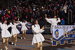 Majestic Marching Knights pass presidential review booth 130121-Z-QU230-316.jpg