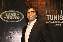 Malek Jaziri at Range Rover in Tunis.jpg