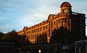 Manchester Victoria Station, the less busy of the two in Manchester city centre