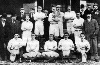 History of Manchester City F.C. (1880–1928) - The 1898-99 team that promoted to the first division