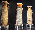 Manifattura fenicia o rodia, unguentari in paste vitree, 450-250 ac. ca. 02.JPG