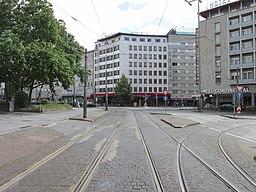 Wiesenhüttenstraße in Frankfurt am Main