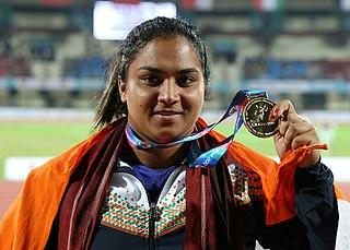 Manpreet Kaur Indian shot putter