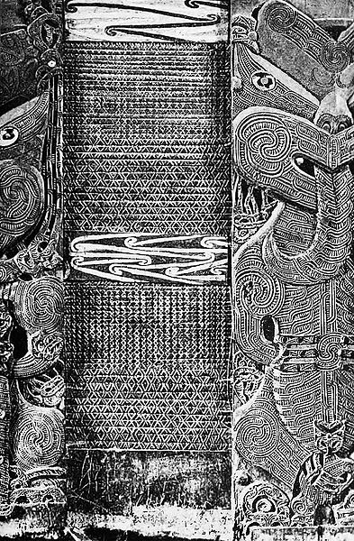 Maori carvings and tukutuku panel2.jpg