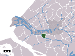 Hoogvliet in the municipality of Rotterdam.
