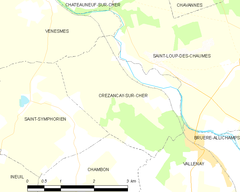 Map commune FR insee code 18078.png