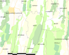 Map commune FR insee code 39215.png