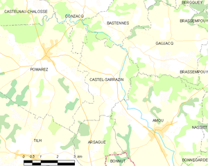 Map commune FR insee code 40074.png