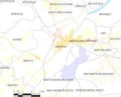 Map commune FR insee code 50099.png