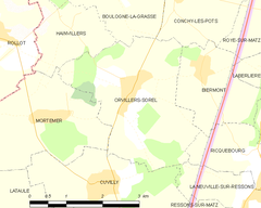 Map commune FR insee code 60483.png
