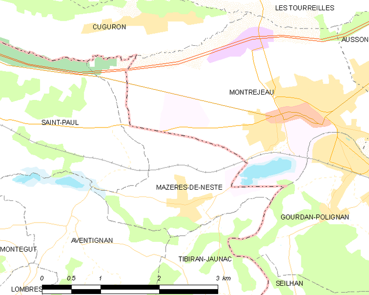 File:Map commune FR insee code 65307.png
