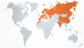 Map of countries visited by Albert II.png